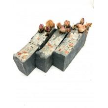 Charcoal Rose Soap